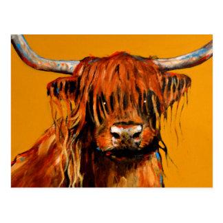 Postal Carne de vaca y mostaza