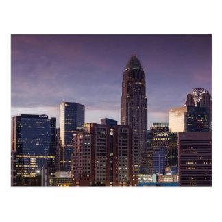 Postal Carolina del Norte, Charlotte, visión elevada