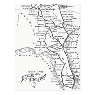 Postal Carretera D1 de Dixie