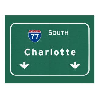 Postal Carretera nacional de Charlotte Carolina del Norte