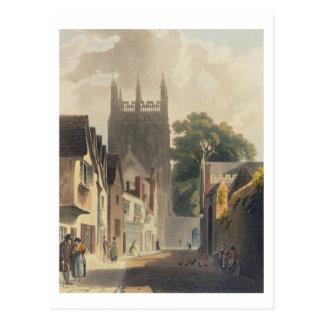 Postal Carril de la urraca, Oxford, ejemplo del 'Histor