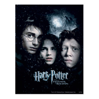 Postal Cartel de película de Harry Potter