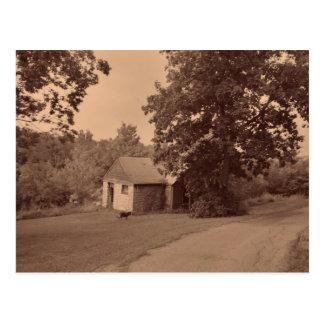 Postal Casa abandonada