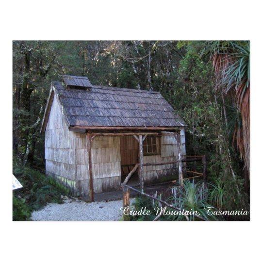 Postal Casa de baños del siglo XVIII, montaña de la cuna