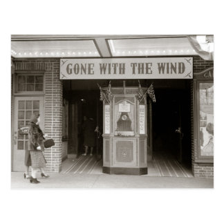 Postal Casa de película meridional, 1940
