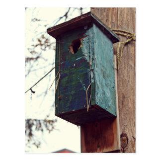 Postal Casa pájaro