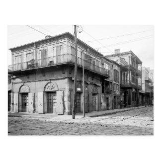 Postal Casa vieja del ajenjo, New Orleans: 1906