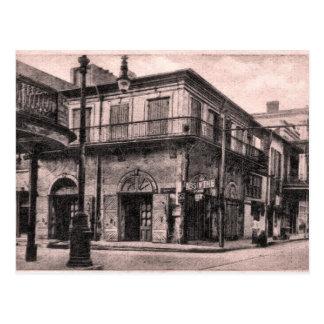 Postal Casa vieja New Orleans del ajenjo