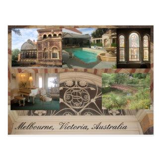 Postal Casa y jardines históricos Melbourne