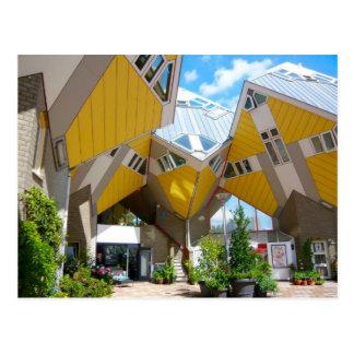 Postal Casas del cubo, Rotterdam Blaak