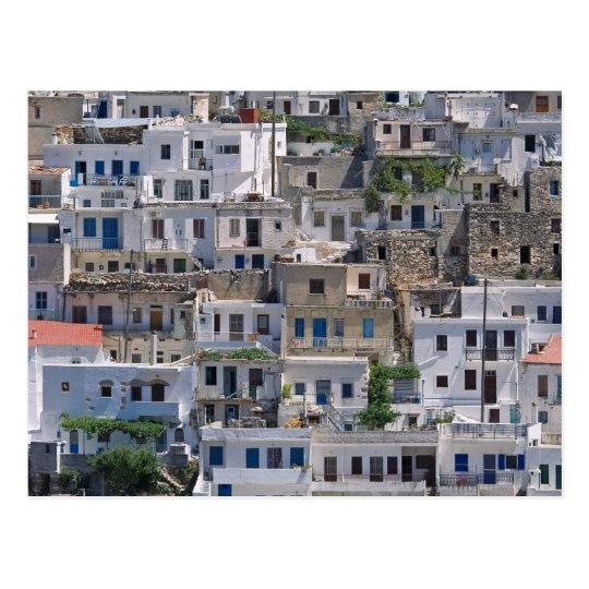 Postal casas en Naxos