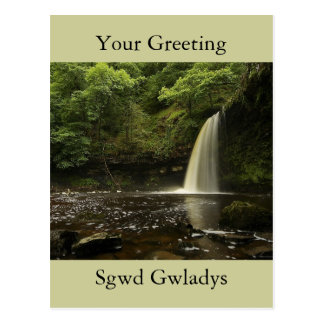 Postal Cascada 2 de Sgwd Gwladys