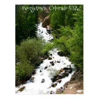 Postal Cascada de Colorado