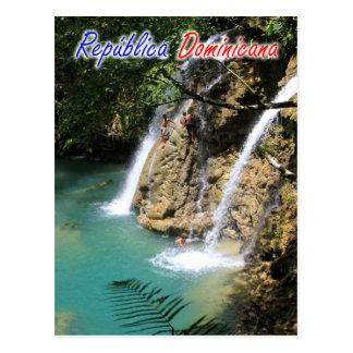 Postal Cascada de la República Dominicana