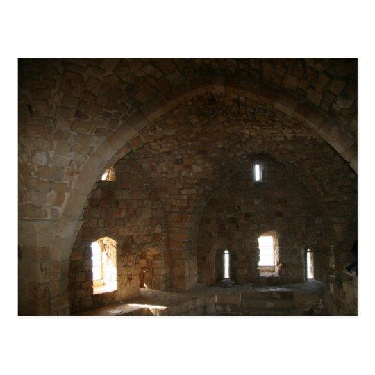 Postal Castillo 3 del mar de Saida
