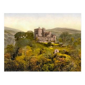 Postal Castillo Campbell Escocia del vintage