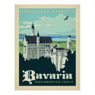 Postal Castillo de Baviera el | Neuschwanstein