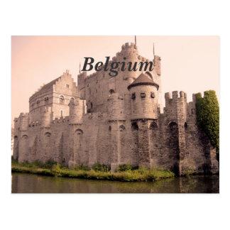 Postal Castillo de Bélgica