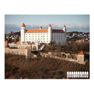 Postal Castillo de Bratislava