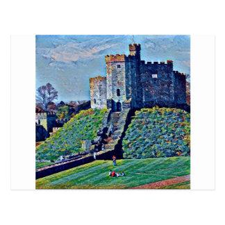 Postal Castillo de Cardiff