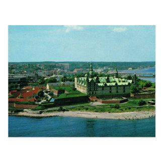 Postal Castillo de Dinamarca Helsingor Kronburg del