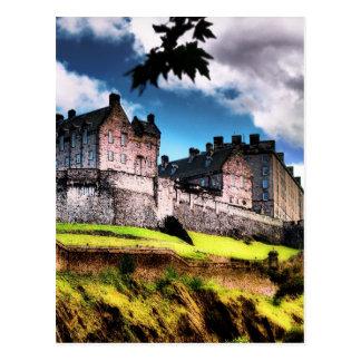 Postal Castillo de Edimburgo
