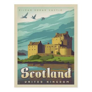 Postal Castillo de Eilean Donan - Escocia