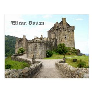 Postal Castillo de Eilean Donan, Escocia