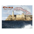 Postal Castillo de Morro (fortaleza), La Habana, Cuba