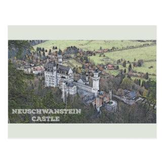 Postal Castillo de Neuschwanstein - Alemania