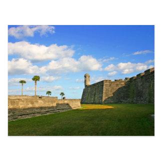 Postal Castillo de San Marcos