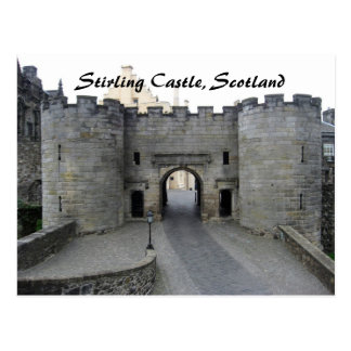 Postal Castillo de Stirling