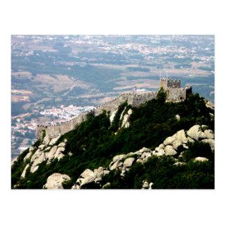Postal Castillo del Moorish - Sintra