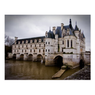 Postal Castillo francés Chenonceau
