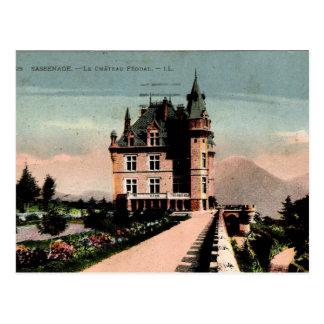 Postal Castillo francés francés