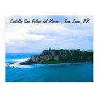 Postal Castillo San Felipe del Morro - fuertes viejos de