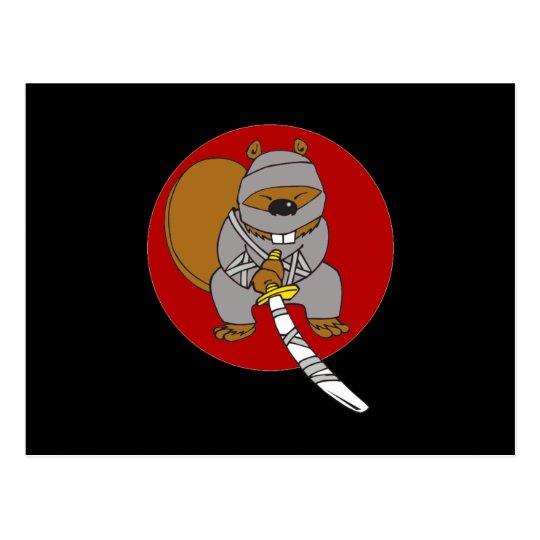 Postal Castor de Ninja
