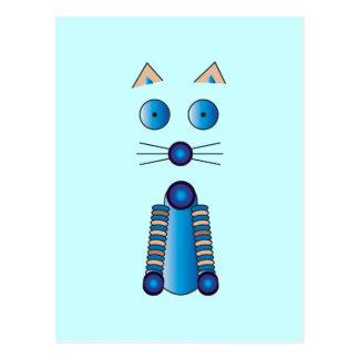 Postal CAT azul