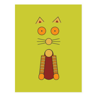 Postal CAT del naranja