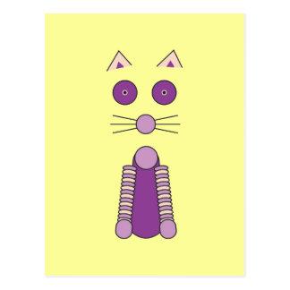 Postal CAT púrpura