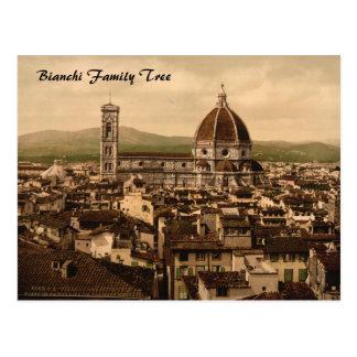 Postal Catedral de Florencia, Toscana, Italia