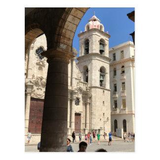Postal Catedral de La Habana, La Habana, Cuba