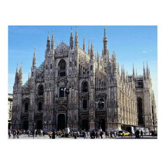 Postal Catedral de Milano, Italia