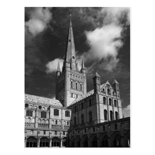 Postal Catedral de Norwich, Norfolk, Inglaterra