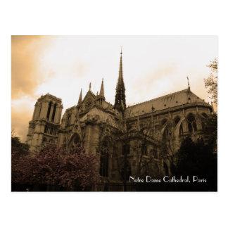 Postal Catedral de Notre Dame