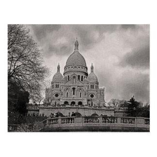 Postal Catedral de Sacre Coeur