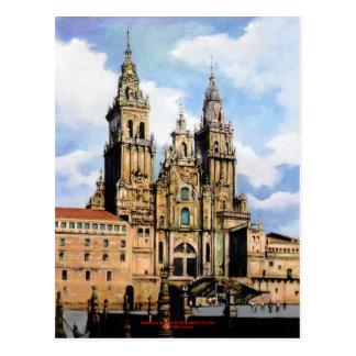 Postal Catedral de Santiago de Compostela (A Coruña)
