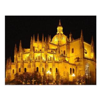 Postal Catedral de Segovia, Espana