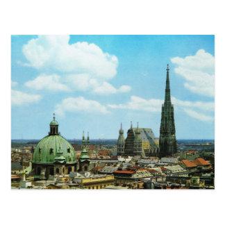 Postal Catedral de Viena, St Stephen, Austria