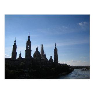 Postal Catedral del Pilar